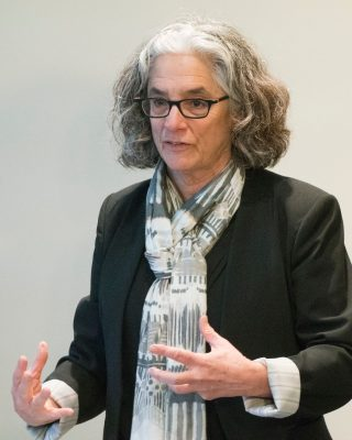 Lainey Feingold during presentation