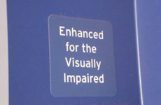 Enhanced for the Visually Impaired