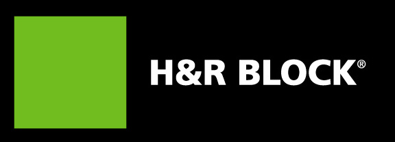 h and r block logo