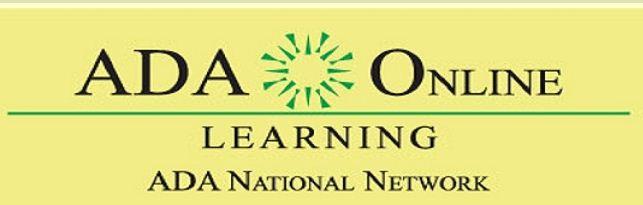 ada online learning logo