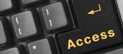"keyboard with word ""Access"" on tab key"