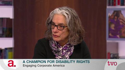 Lainey Feingold on Canadian public television