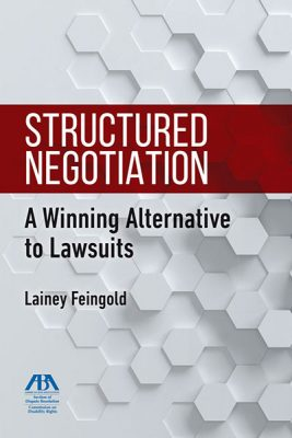 cover of Structured Negotiation book
