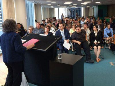 Lainey speaking in Sydney