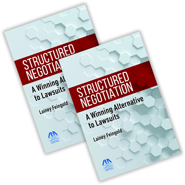 Book cover for Structured Negotiation: A Winning Alternative to Lawsuits